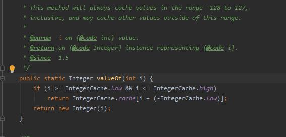 """Czemu czasami porównanie obiektu typu Integer za pomocą """"=="""" działa?"""